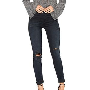 J BRAND MARIA DESTRUCTED SANCTITY SKINNY JEANS 28